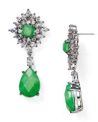 Samantha Wills - Green Parisian Nights Grand Earrings - Lyst