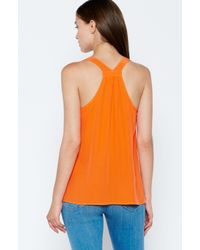 Joie Orange Zumila Top