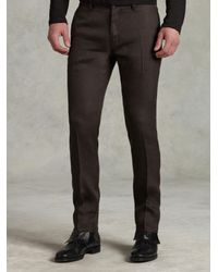 John Varvatos Brown Motor City Jean for men