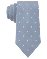 Calvin Klein | Blue Horizon Dot Slim Tie for Men | Lyst