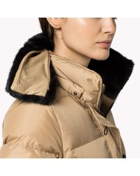 Tommy Hilfiger Natural Down Hooded Coat
