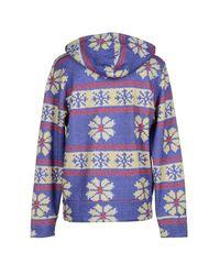 Franklin & Marshall - Purple Sweatshirt - Lyst