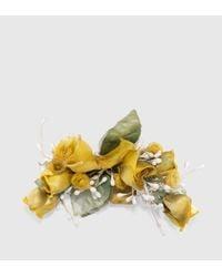 Gucci | Multicolor Flower Brooch In Silk | Lyst