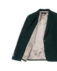 Paul Smith - Green Button-Up Wool Blazer  - Lyst