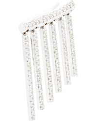 Ileana Makri | Diamond & White Gold Curtain Earring | Lyst