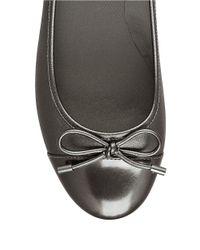 Easy Spirit | Metallic Davalyn Wedge Leather Slip-ons | Lyst