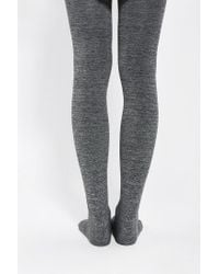Urban Outfitters Gray Fleece Lined Full Tight