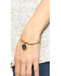 kate spade new york | Metallic Zodiac Charm Bangle Bracelet - Capricorn | Lyst