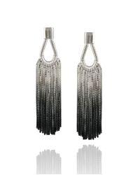 Cara Tonkin | Metallic Vesper Teardrop Earring | Lyst