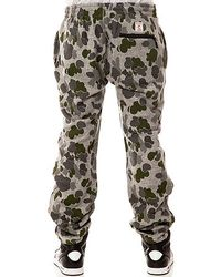 Crooks and Castles - Multicolor The Double Barrel Sweatpants for Men - Lyst