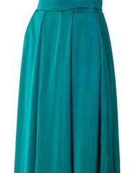 ROKSANDA Blue Duchess Satin Skirt