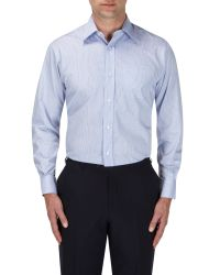 Skopes - Blue Easy Care Formal Shirts for Men - Lyst