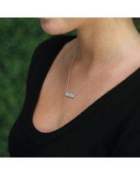 Dana Rebecca - Metallic Sylvie Rose Opal Bar Necklace - Lyst
