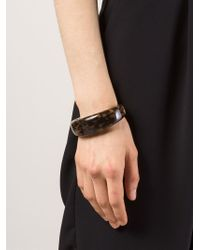 Michael Kors | Metallic Tortoise Bangle | Lyst
