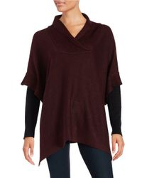 Lord & Taylor | Purple Layered-style Sweater | Lyst