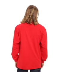 686 | Red Wreath L/s T-shirt for Men | Lyst