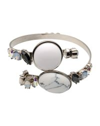 Vickisarge - White Bracelet - Lyst