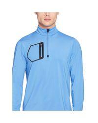 Pink Pony - Blue Tech Jersey Half-zip Pullover for Men - Lyst