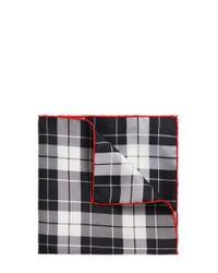 HUGO | Black Silk Pocket Square: 'pocketsquare 33x33cm' for Men | Lyst