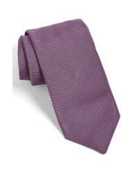 Todd Snyder | Purple Solid Silk Tie for Men | Lyst