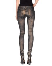 75 Faubourg | Metallic Denim Trousers for Men | Lyst