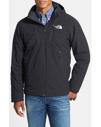 The North Face Black 'apex Elevation' Windproof & Weather Resistant Primaloft Jacket for men