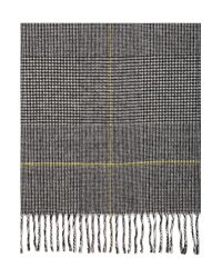 Max Mara | Black Caronte Virgin Wool Scarf | Lyst