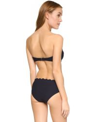 Kate Spade | Blue Marina Piccola Polka Dot Bikini Top | Lyst
