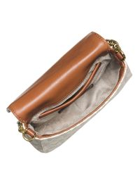 MICHAEL Michael Kors | White Fulton Signature Small Cross-body Bag | Lyst
