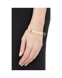 Miansai | Metallic Thin Hudson Cuff Bracelet | Lyst