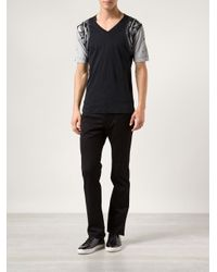 Diesel Black Gold Black Classic Tshirt for men