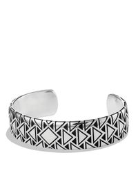 David Yurman | Metallic Frontier Wide Cuff for Men | Lyst