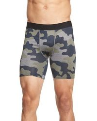 Athletic Recon | Blue 'cobra' Compression Shorts for Men | Lyst