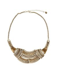 Pull&Bear | Metallic Pull Bear Basic Necklace | Lyst