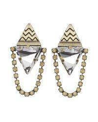 Lionette | Metallic London Earrings | Lyst