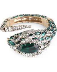 Roberto Cavalli | Metallic Embellished Serpent Bracelet - For Women | Lyst