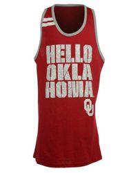 Adidas Red Girls' Oklahoma Sooners Princess Tank Top