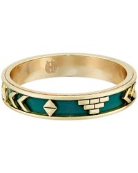 House of Harlow 1960 - Green Aztec Bangles - Lyst