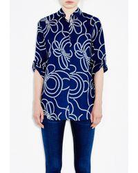 M.i.h Jeans | Blue Simple Shirt | Lyst