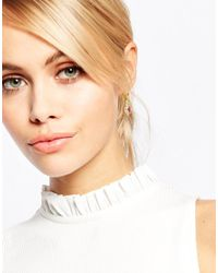 Les Nereides | Orange Jewel Drop Earrings | Lyst