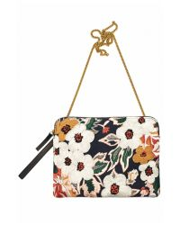 Lizzie Fortunato | Multicolor Safari Clutch In Caribbean Floral | Lyst