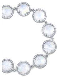 Irene Neuwirth Metallic Rainbow Moonstone Bracelet