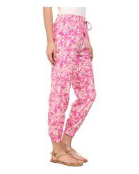 Amuse Society - Pink Traveler Pants - Lyst