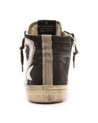 Golden Goose Deluxe Brand - Slide Sneakers - Black/Ice - Lyst