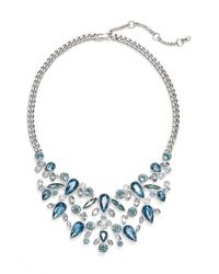 Givenchy | Blue 'drama' Bib Necklace | Lyst