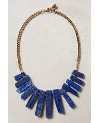 Anthropologie - Blue Meteora Necklace - Lyst