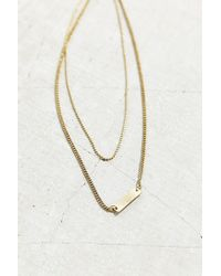 Urban Outfitters - Metallic Perfect Layering Necklace - Lyst