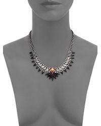 DANNIJO | Metallic Kohler Crystal Necklace | Lyst