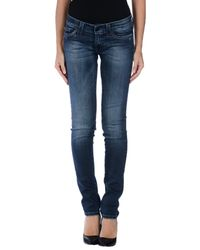S.o.s By Orza Studio Blue Denim Trousers