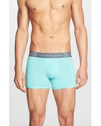Tommy John | Red Cool Cotton Trunks for Men | Lyst